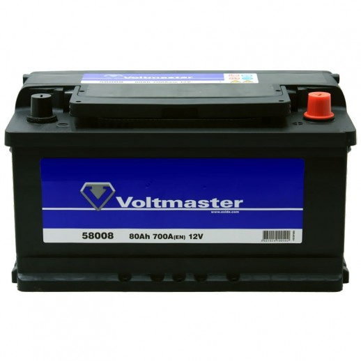 Аккумулятор  VOLTMASTER 12V 80AH 700A ETN 0R+ B13 58008  купить в Минске