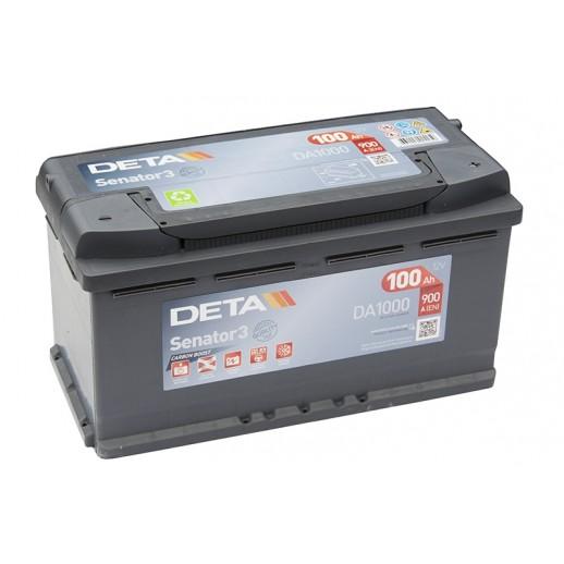 Аккумулятор DETA DA1000 100 AH 900 A ETN 0R+   купить в Минске
