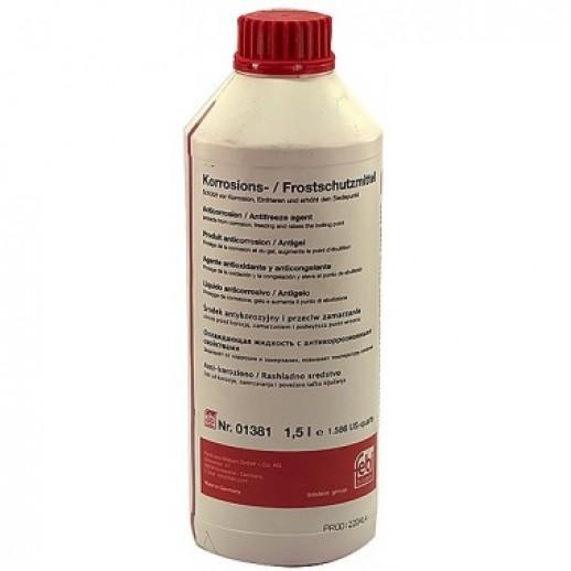 FEBI 01381 антифриз красный 1,5L концентрат 1:1 -40°C