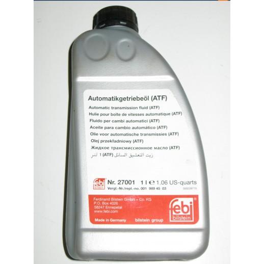 Жидкость FEBI 27001 для АКП и г/у ATF красная 1L 27001 27001 FEBI