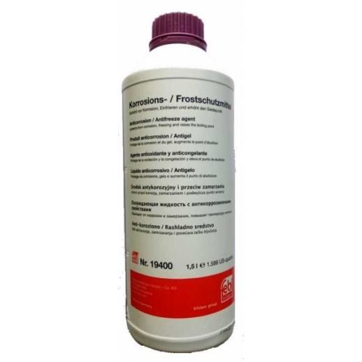 Антифриз фиолетовый FEBI 19400 1,5L  концентрат 1:1 -40°C 19400 19400 FEBI 17.88 BYN